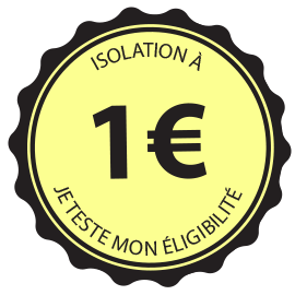 Isolation à 1€ - simulation
